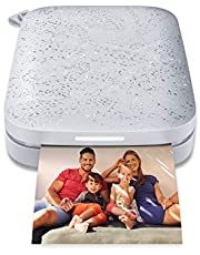 HP Sprocket Portable 2x3 inch Instant Photo Printer (Luna Pearl) Print foto's op Zink Sticky-Backed vanaf uw iOS & Android-apparaat