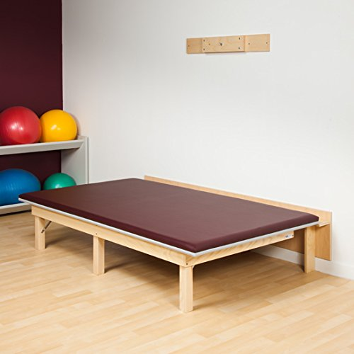 Clinton Mat Platform - Clinton Wall Mounted Wooden Space Saving Folding Mat Platform Therapy Table 5 x 7