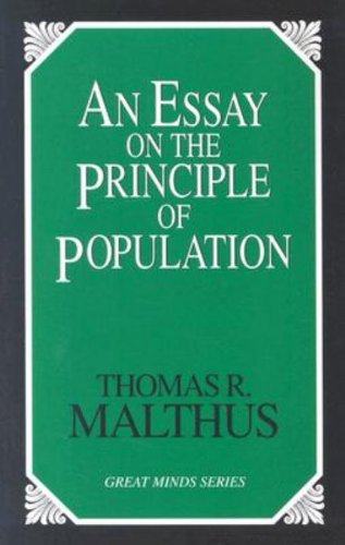 An essay on the principle of population t r malthus
