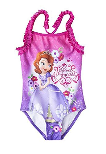 Amazon.com: Princesa Sofia the First para niñas una pieza ...