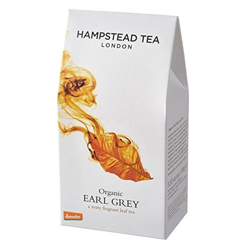 Tea Biodynamic - Hampstead Tea Organic Biodynamic Loose Leaf Black Tea Earl Grey 3 53 oz 100 g