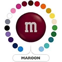 M&M's Maroon Milk Chocolate Candy 5LB Bag