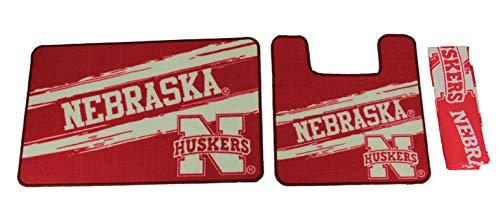 The Northwest Company Nebraska Cornhuskers 15 Piece Bath Set - Nebraska Bed Set