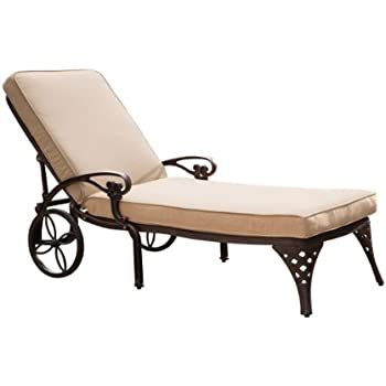 Amazon Com Biscayne Bronze Chaise Lounge Chair With