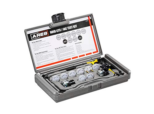 ARES 71500 - Noid Light & IAC Test Kit - Easily Eliminate EFI and IAC Systems as Causes for Non-Starting Vehicles