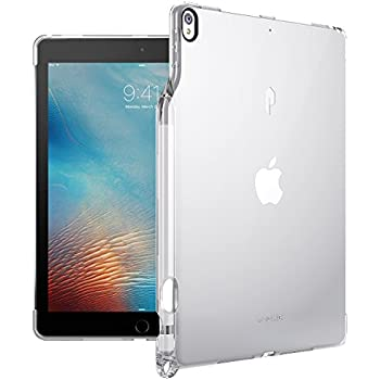 Poetic Lumos Flexible Soft Transparent Ultra-Thin Impact Resistant TPU Case for Apple iPad Pro 10.5 Crystal Clear