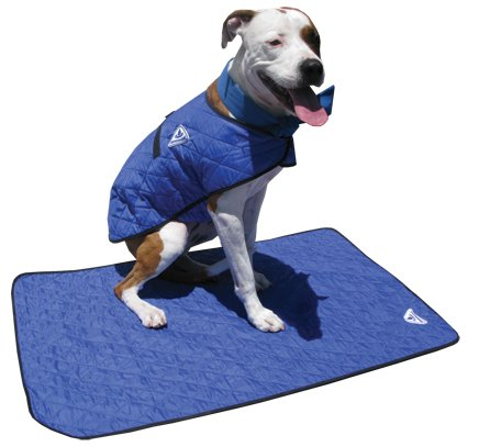 Small - Silver - Evaporative Dog Cooling Mats