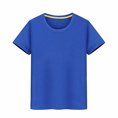 T Vestiti Creativo L 100 Cotone Custom Blu T Semi shirts shirt Il s Abbigliamento T Xiaogege Stampa Foto Pari manicotto HXvTq0w