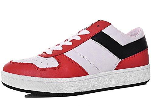 Pony - Zapatillas de Piel para hombre Rojo