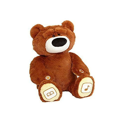 Future of Play Luv & Learn Interactive Teddy Bear Plush, Brown by Future Play