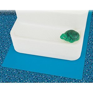 Blue Wave Easy Pool Step for Above-Ground Pools Design: 2ft x 3ft Step Pad - Step Design Pool