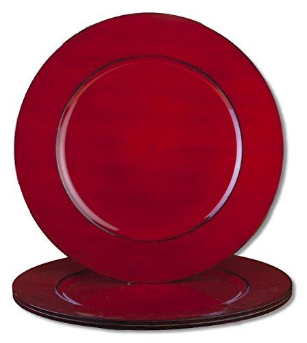 bogo Brands Plastic Charger Plates