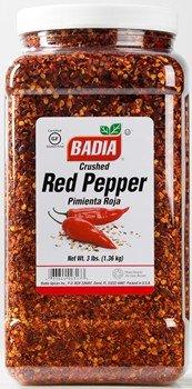 Badia Pepper Red Crushed 3 lbs