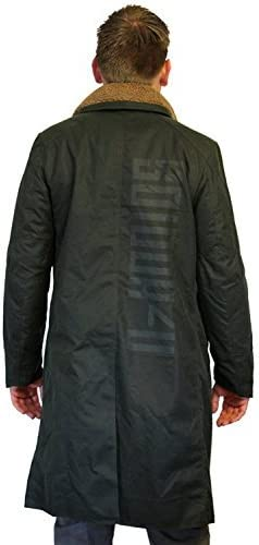 Blade Runner 2049 Faux Fur Mens Cotton Long Trench Coat