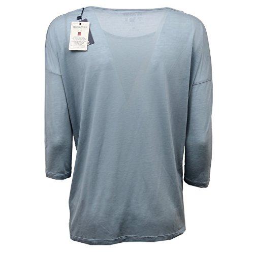 Maglia T Blue Azzurro Donna Woolrich D5210 shirt Woman 1w8TBqcpxZ