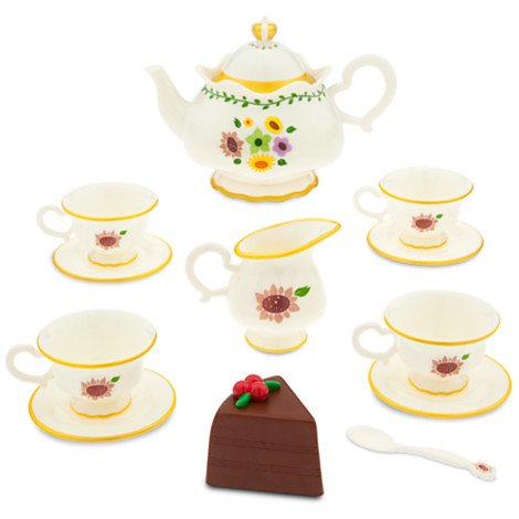 Disney Sofia the First Deluxe Talking Tea Party Set - Oz China Doll Costume