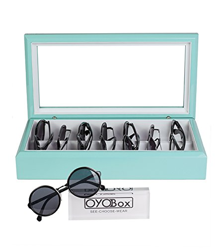 OYOBox Aqua Luxury Eyewear Organizer