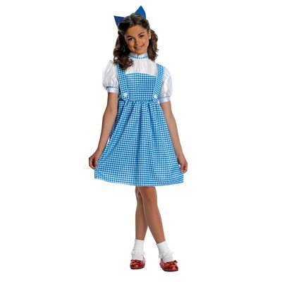 Girls Deluxe Dorothy Costume - Child Small ()