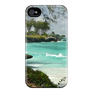 New Barbados Shore Tpu Case Cover, Anti-scratch HBcawXn1557LIRfm Phone Case For Iphone 4/4s