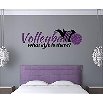 Custom Personalized Volleyball Wall Decal Sticker Removable Wall - Custom vinyl wall decals removable