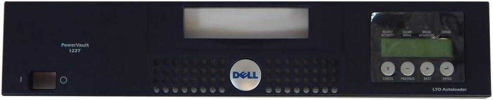 Dell 4N199 PV122T LTO Blck Face Plate Front Bezel 5N108 Autoloader Black Bezel Assembly
