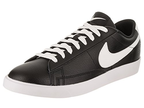 NIKE Men's Blazer Low Leather Black/Sail Sail Gum Med Brown Casual Shoe 12 Men US by NIKE (Image #1)