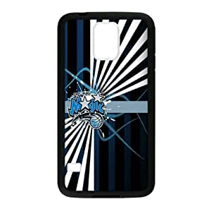Fashionable designed Samsung Galaxy S5 TPU Case with Orlando Magic Logo (Laser Technology)-by Allthingsbasketball by ruishername