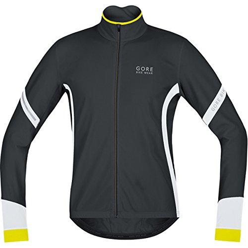 - GORE BIKE WEAR, Men´s, Thermo cycling jersey, long sleeves, POWER 2.0 Thermal, Size XXL, Black/White, KMPOWE