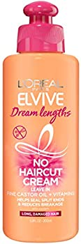 LOreal Paris Elvive Dream Lengths No Haircut Cream Leave in Conditioner