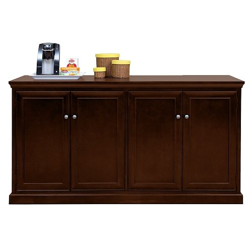 Executive Series Training Table - Buffet Storage Credenza with Espresso Finish - 68