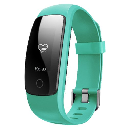 TOOGOO(R) Smart ID107Plus HR Heart Rate Bracelet Monitor ID107 Plus Wristband Health Fitness Tracking For Android iOS Smart Watch Green by TOOGOO(R)