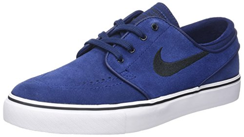 Nike Zoom Stefan Janoski Zapatillas de skateboarding, Hombre Multicolor (Binary Blue/black)