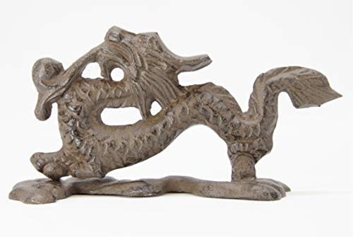 Dragon Door Knocker - Cast Iron - Silvercloud Trading Co.