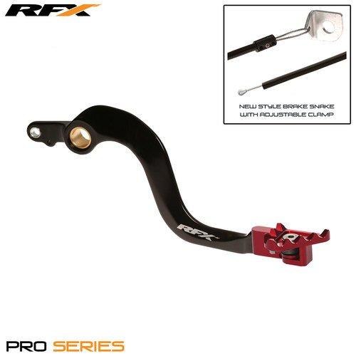 Rfx Pro ft freno posteriore a pedale leva (nero/rosso) FXRB 10400 99RD