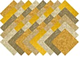 Beige Gold Blender Collection 40 Precut 5-inch