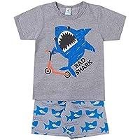 Conjunto Tubarão Patinete 5416 Mescla