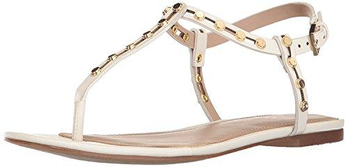 ALDO Women's Starda Flat Sandal, White, 6 B US