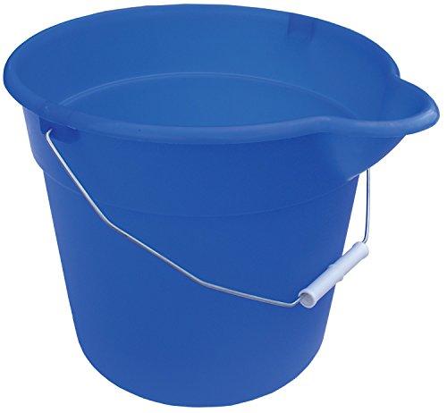 - Encore 12384 12-Quart Blue Mop Bucket with Pour Spout