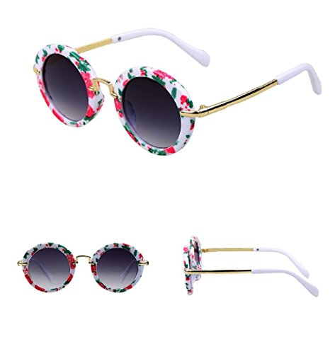 Fashion Round Kids Sunglasses Children Sun Glasses Anti-uv Baby Vintage Eyeglasses - Babies For Sunglasses Beaba