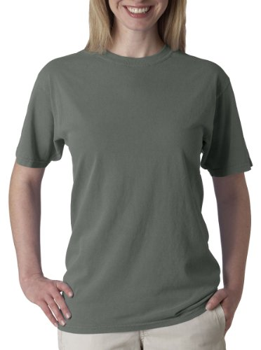 Comfort Colors Ringspun Cotton Garment-Dyed T-Shirt, MONTEREY SAGE, Large