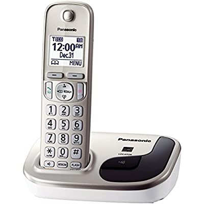 Panasonic Expandable Digital Cordless Phone with 1 Handset