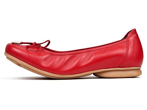 Bailarinas Sabrinas Versatil Rojo