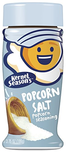 Kernel Season's Popcorn Salt, 3.75 Ounce Shakers (Pack of 6)