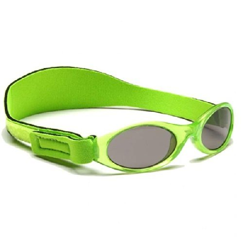 Baby Banz Adventurer Sunglasses Green Gingham