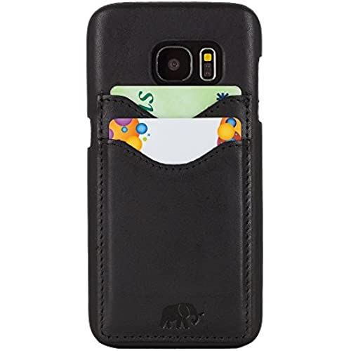 Samsung Galaxy S7 Leather Case, Benito Ultimate Jacket Case with Credit Card Slots, Genuine Leather, Slim, Handmade, Leather Case for Samsung Galaxy S7, Made in Sales