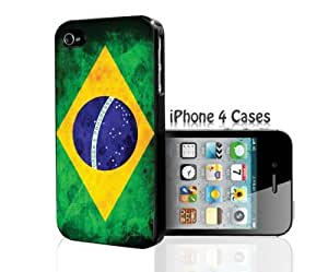 Brazil Flag iPhone 4/4s case