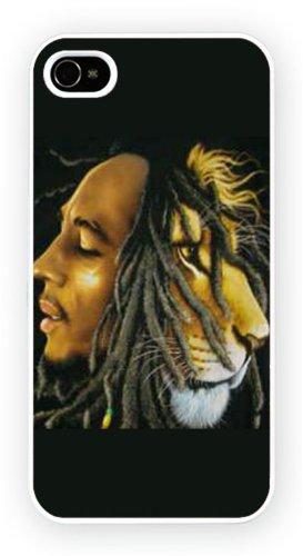 Rasta Lion Reggae Bob Marley, iPhone 5 5S, Etui de téléphone mobile - encre brillant impression