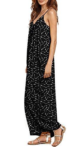 Spaghetti Dyed Tie Xg Boho Strap Women's Anatoky Maxi Dress w4q57fqIx