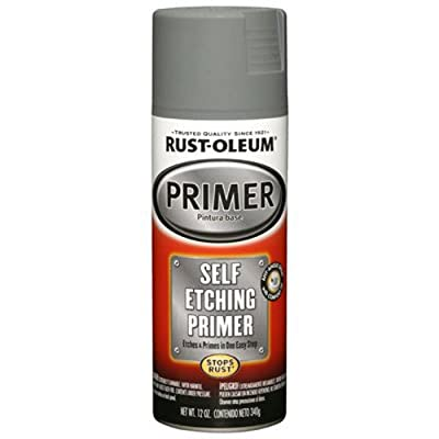 Rust-Oleum 249322 Automotive 12-Ounce Self Etching Primer Spray Paint, Dark Green
