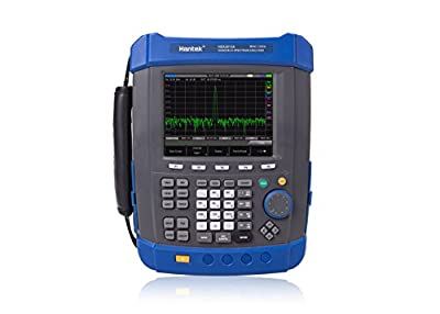 VETUS INSTRUMENTS HSA2016A Handhele USB interface Spectrum Analyzer with Portable Field Strength Meter spectrum monitor Frequency Range 9KHz to 1.6GHz AC Coupled Digital Spectrum Analyzer Color Blue